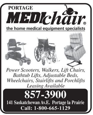 Portage La Prairie. Wheelchairs in Portage-La-